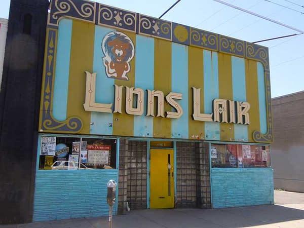 Lion's Lair, Colfax Avenue, Denver, Colorado 07-14-2011