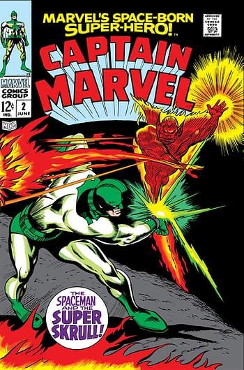 Captain Marvel (Volume 1) #2 Cover