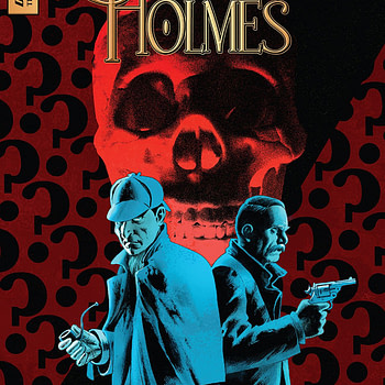 Sherlock Holmes: The Vanishing Man #1 cover by John Cassaday