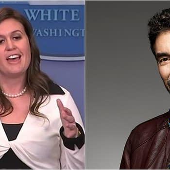 Big Bang Theory Creator Chuck Lorre Doubts Sarah Huckabee Sanders Has God on Speed Dial