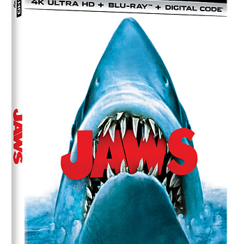Jaws will release on 4K Blu-ray in June.