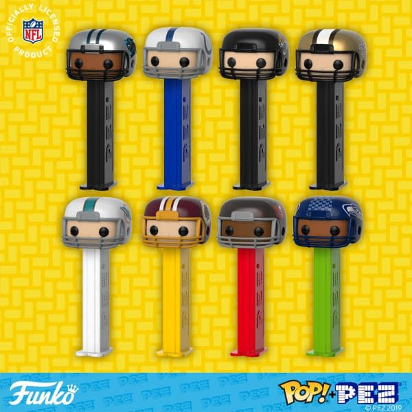 Funko Pop Pez NFL 3