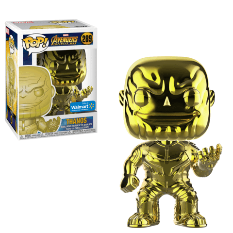 Funko Chrome Thanos Yellow