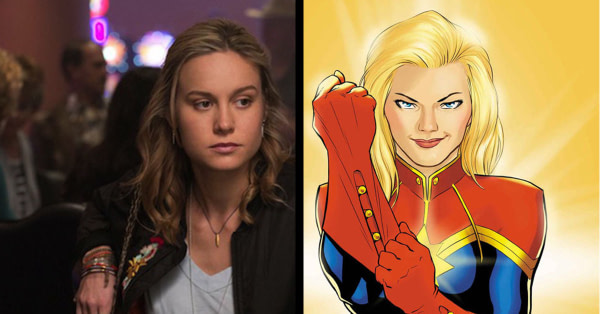 Brie Larson Will Take On The Role Of Captain Marvel