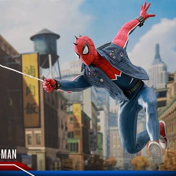 Hot Toys Spider Man Spider Punk Figure 20