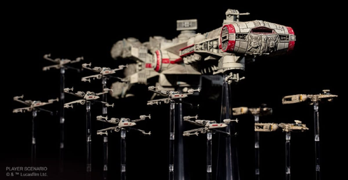 """Star Wars: X-Wing"" Braces for the Return of Huge Ships to Combat"