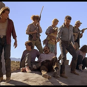 A scene from Tremors (Image: NBCUniversal)