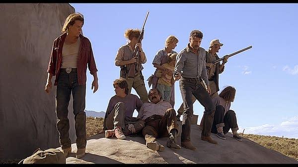 Une scène de Tremors (Image: NBCUniversal)