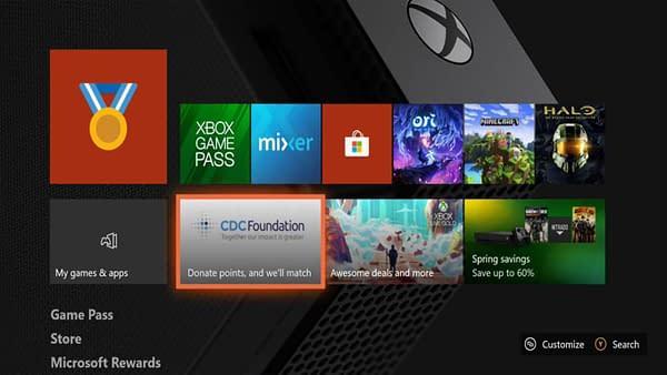 Xbox CDC Foundation Donation