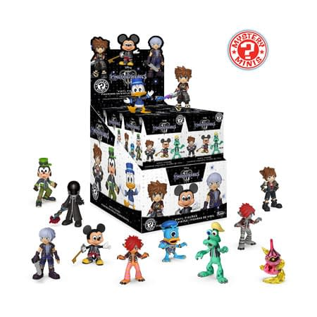 Funko Kingdom Hearts Mystery Minis