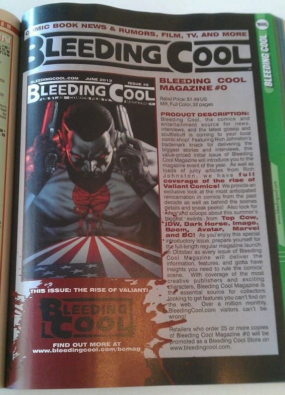 When You Are In The Comic Store Tomorrow, Please Remember Bleeding Cool Magazine