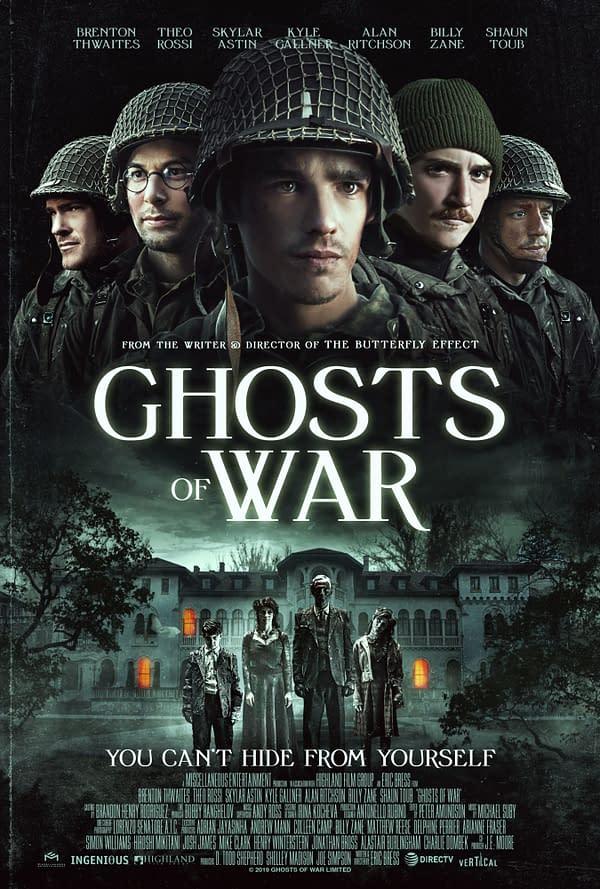Découvrez la bande-annonce du nouveau film de la seconde guerre mondiale Ghosts Of War