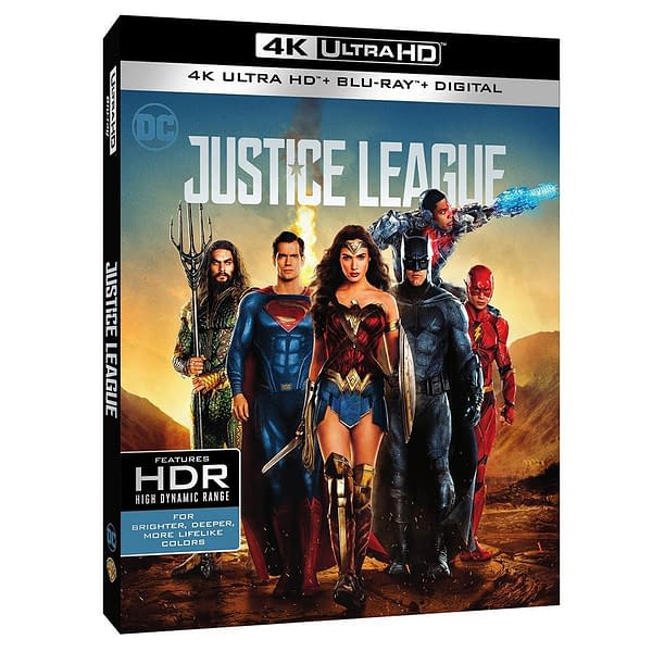 Let's Talk About Justice League on 4K: Kind of the Snyder Cut