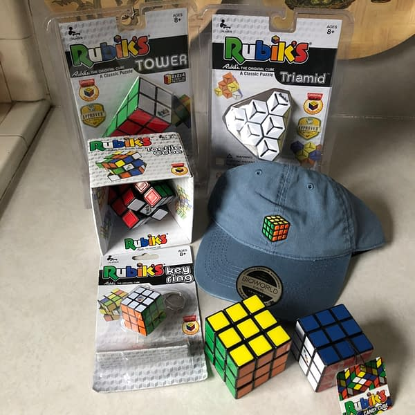 Looking Over Various Rubik's Cubes for Educational Gaming