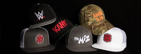 Lids and WWE Partner Up for New Line of Superstar Hats, Available Now