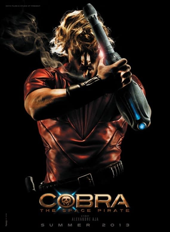 First Poster For Alexandre Aja's Cobra: The Space Pirate