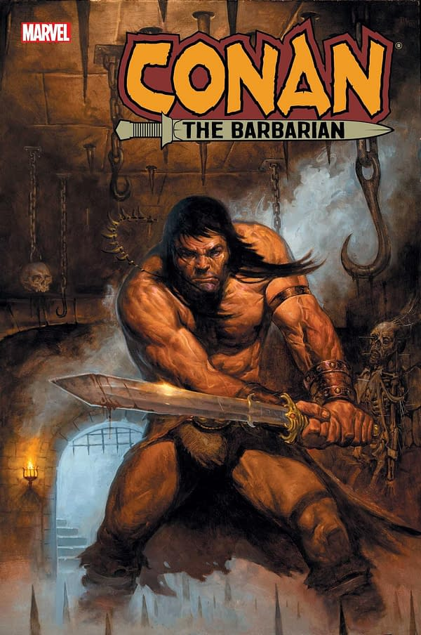 Jim Zub Graduates to Marvel's Conan The Barbarian Ongoing Series in February