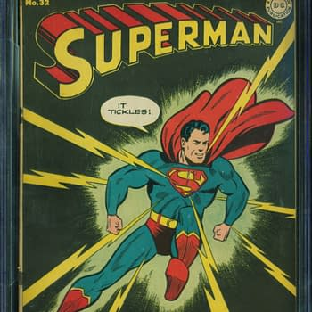 Superman #32, Jan/Feb 1945, DC Comics.