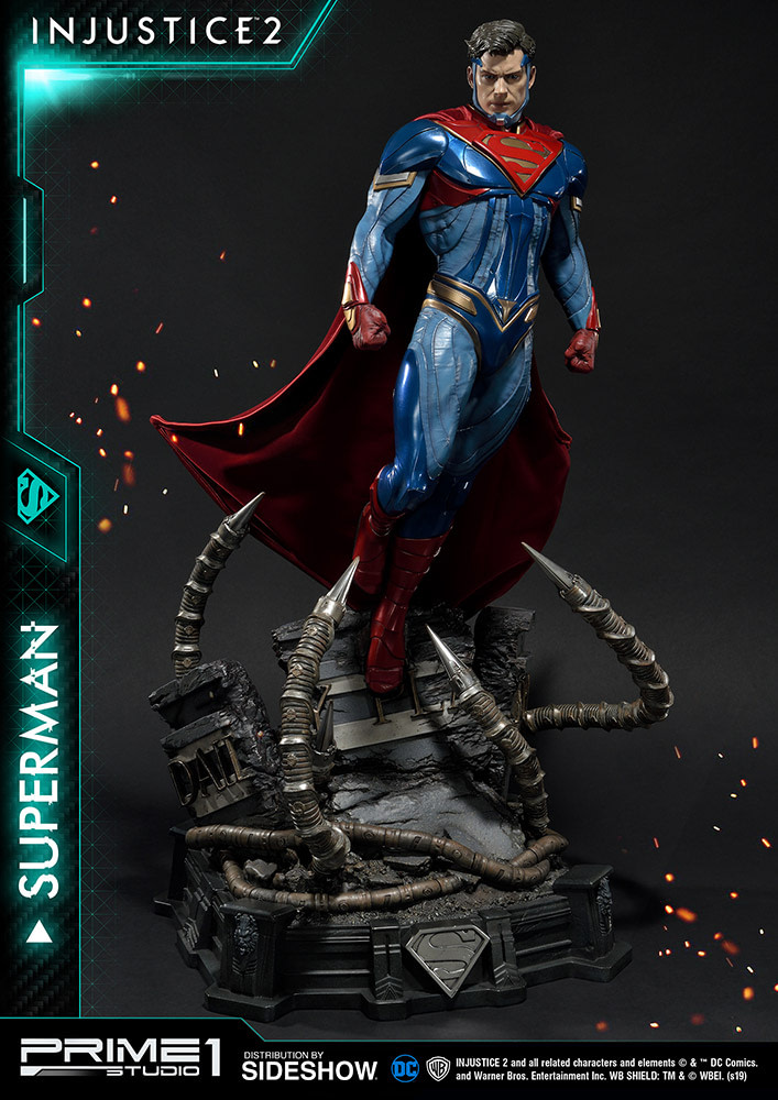Injustice 2 Superman Statue de Prime 1 Studio