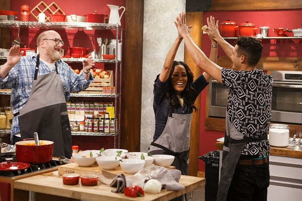 Victory is theirs on Worst Cooks in America season 19, courtesy of Food Network.