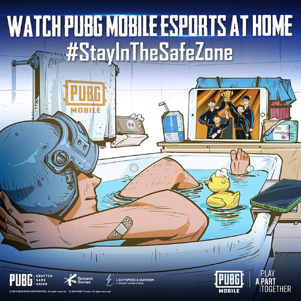 PUBG Corp. wants you to Stay In The Safe Zone.