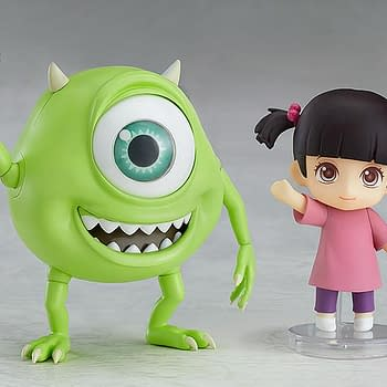 Monsters Inc. Fans: Check Out the Adorable New Mike and Boo Nendoroid