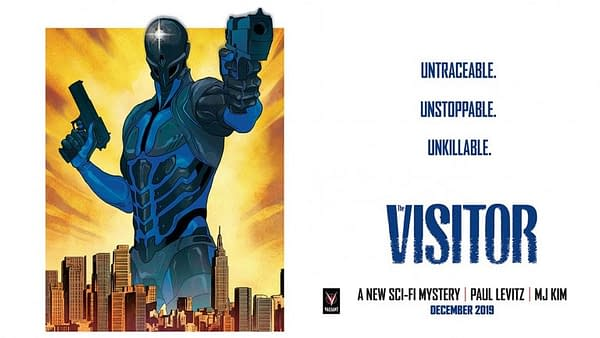 Paul Levitz Gets An Extra Issue for The Visitor