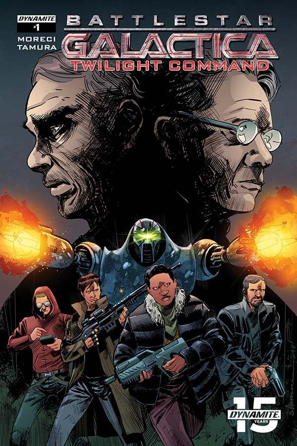 Michael Moreci's Writer's Commentary on Battlestar Galactica: Twilight Command #1