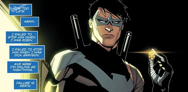 Nightwing #36 art by Bernard Chang and Marcelo Maiolo