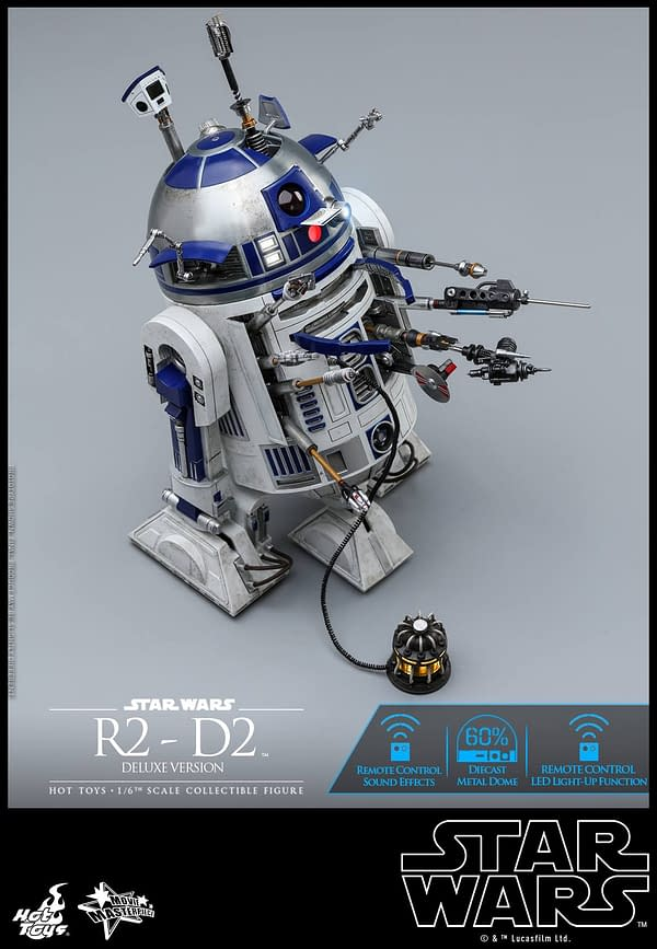Star Wars Hot Toys R2 D2 Deluxe 9
