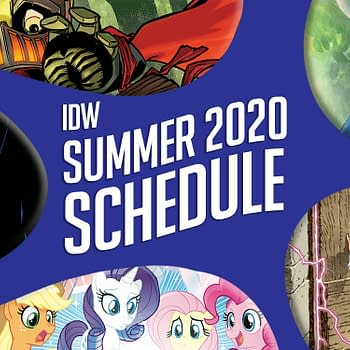 IDW's Direct Market Publishing Schedule for 2020