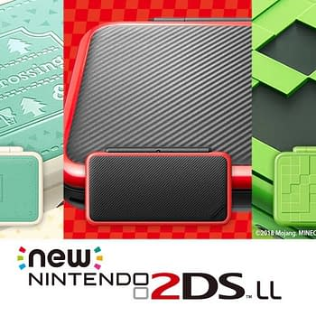 Nintendo Debuts Three New Japanese Variants of the New 2DS XL