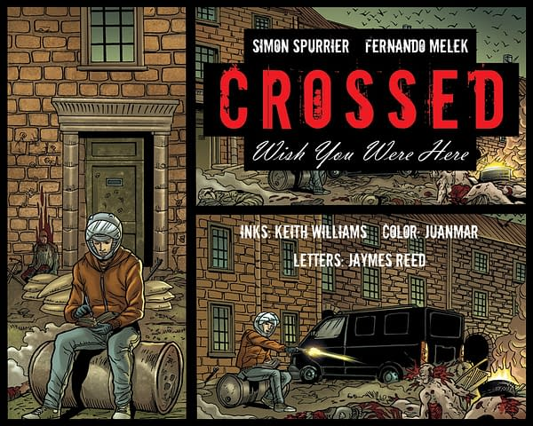 Free WebComic, Crossed: Wish You Were Here, Live with New Chapter