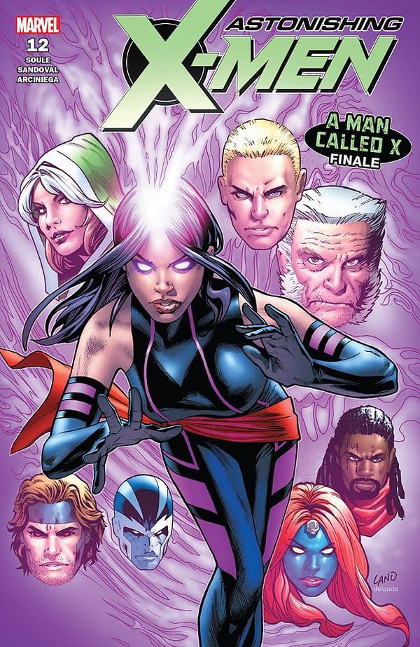 Astonishing X-Men #12 cover by Greg Land
