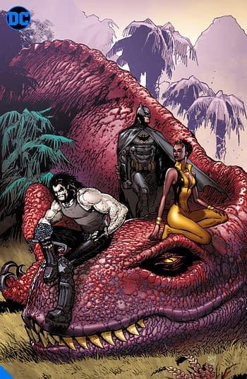 Art of Doug Mahnke, one of many DC Big Books in 2020 and 2021