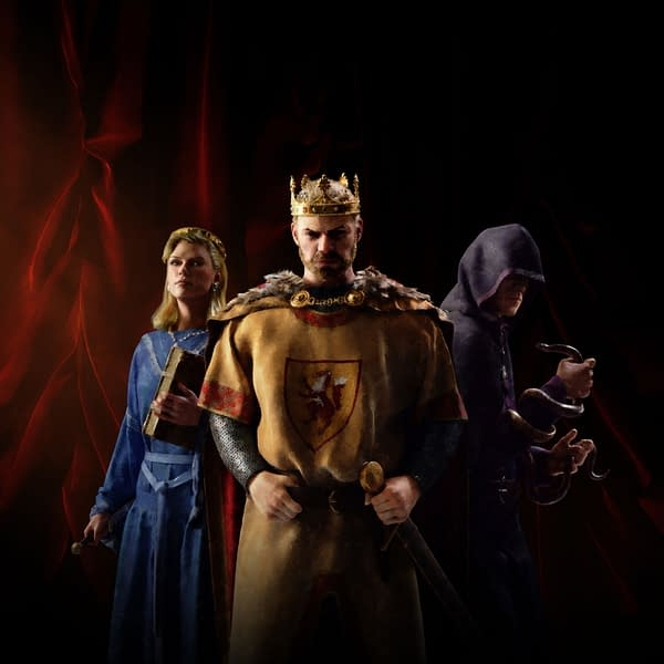 heavy is the head that wears the crown in Crusader Kings 3, courtesy of Paradox Interactive.