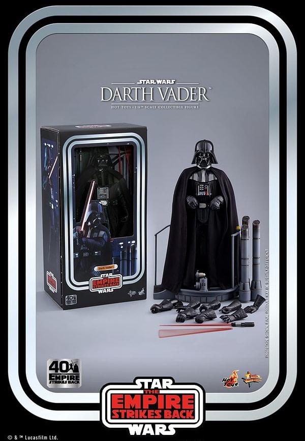 Hot Toys Empire contre-attaque Darth Vader Throwback Figure