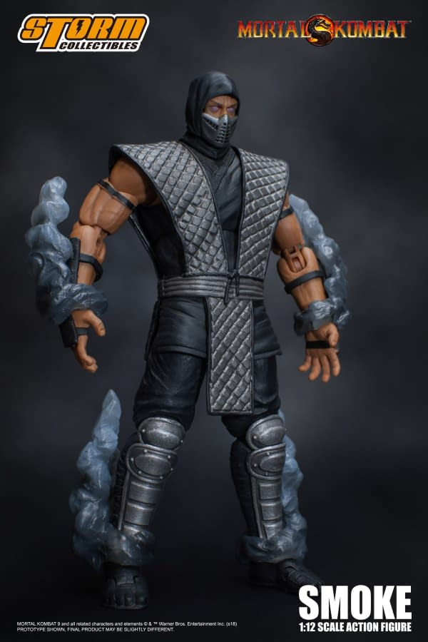 NYCC Storm Collectibles Mortal Kombat Smoke Exclusive 4