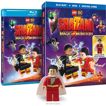 LEGO DC Shazam Hits Blur-ray on June 16th