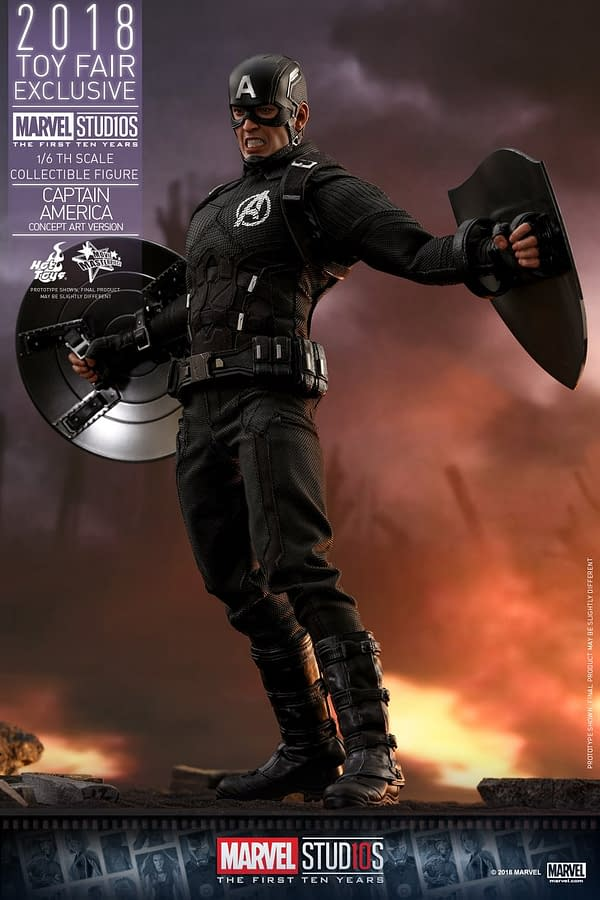 Hot Toys Concept Art Captain America 13