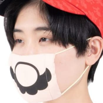 Protect yourself and others with this awesome Mario face mask.