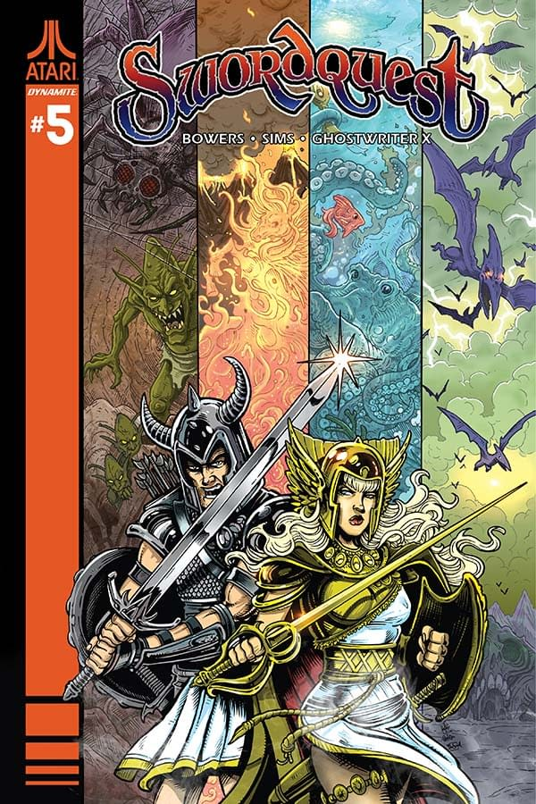 Exclusive Extended Previews Of Clash Of Kings #6, The Shadow #4, And James Bond: Solstice