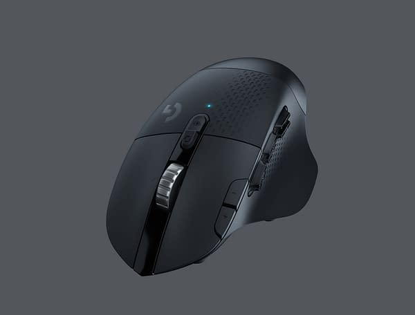 LogitechG Reveals The G604 Lightspeed Wireless Gaming Mouse