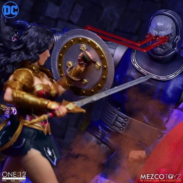 Wonder Woman is Battle Ready with New One: 12 Mezco Toyz Figure