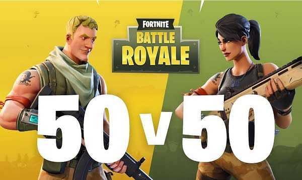 Fortnite Players Want the 50 v 50 Mode to Stick Around