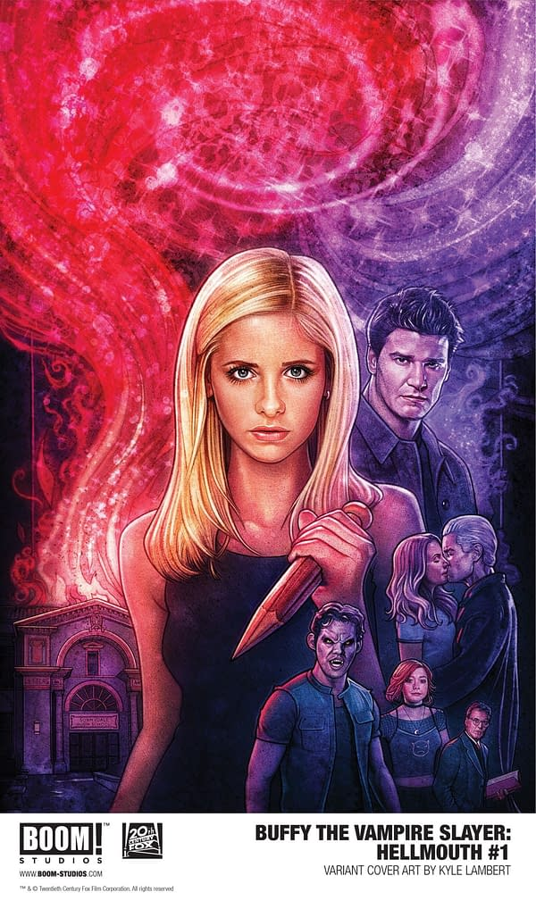 BOOM! Announces Hellmouth Series for Buffyverse Event