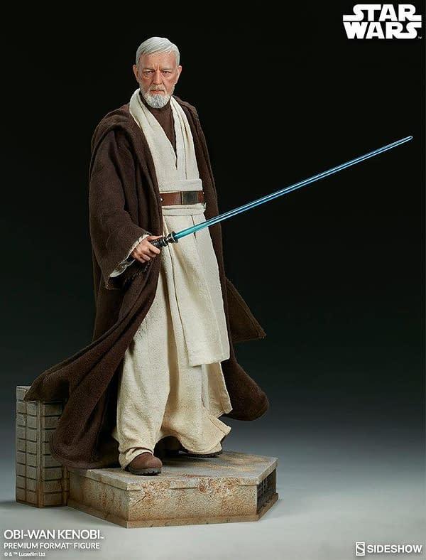 Sideshow Collectibles Star Wars Obi- Wan Kenobi Premium Format Figure 2