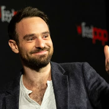 Charlie Cox attends Marvel's DAREDEVIL panel during New York Comic Con at Hulu Theater at Madison Square Garden. Editorial credit: lev radin / Shutterstock.com