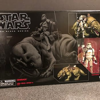 Star Wars Black Series Dewback and Sandtrooper