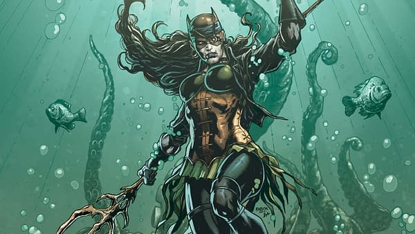 Batman: The Drowned #1 cover by Jason Fabok and Brad Anderson